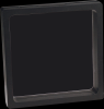 Illusion Black Plastic Presentation Boxes Shadow Boxes