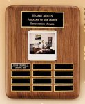 American Walnut Photo Perpetual Plaque Achievement Award Trophies