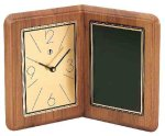 American Walnut Album Clock Boss Gift Awards