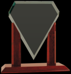 Royal Marquis Diamond Jade Glass Award Employee Awards