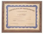Gold Border Slide-In Certificate Holder Employee Awards