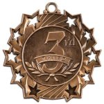 3rd Place Ten Star Medal Golf Awards