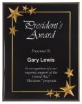 Black Star Acrylic Award Recognition Plaque Religious Awards