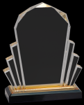 Gold Faceted Impress Acrylic Sales Awards