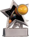 Softball - Silver Star Motion Series Resin Silver Star Motion Resin Trophies