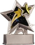 Star - Silver Star Motion Series Resin Silver Star Motion Resin Trophies
